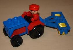 LEGO DUPLO 2655 TRAKTOR FARMA STATEK